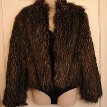 Baby Phat Faux Raccoon Fur Coat