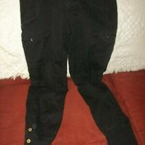 Baby Phat Girls  Pants Size Jr 5  Black  Cotton Spandex Cargo  32x29 R 8 Photo
