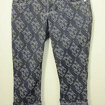 Baby Phat Juniors 1 Cotton/polyester/spandex Gray Capris Cropped/w 21
