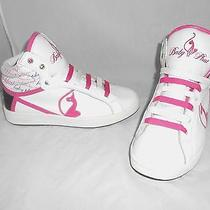 Baby Phat Kimora Simmons Hi Top Pink White Fashion Sneakers Shoes Sz Us Womens 8 Photo