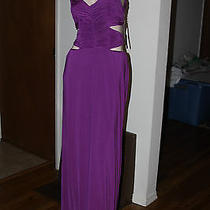 Baby Phat  Purple Color Seductive Daydream Maxi Cut Out Dress Size Xs Photo
