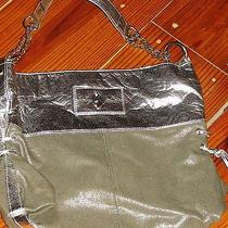Baby Phat Silver Bling Holiday Handbag Purse  Photo