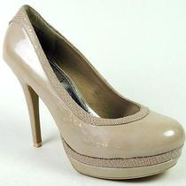 Baby Phat Women's Chance Platform Pumps Natural Patent/snake Print Size 5 (B m) Photo