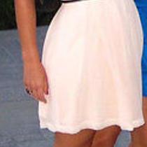 Baby Pink Strapless Dress Photo