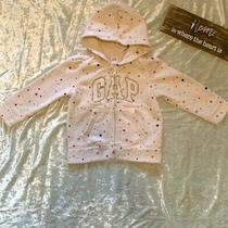 Babys Gold and White Stared Gap Hoodie Photo