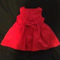 Baby's Red Dress Photo