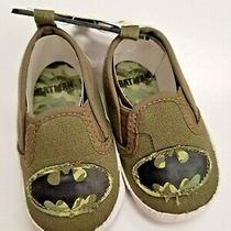 Baby Size 2 De 6 -9m Batman  Shoes  Bebe Nino Zapatito Nuevo Photo