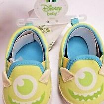 Baby Size 2 De 6 -9m Disney Baby  Shoes  Bebe Nino Zapatito Nuevo Photo
