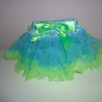 Baby /toddler Aqua /green Tutu Size S 2t Photo