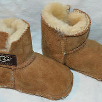 Baby Toddler Infant Ugg Australia Chestnut Boo Boot Booties Shoes  Photo