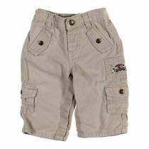 Babygap Baby Boys Pants Size 6 Mo  Grey Beige  Cotton Photo