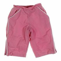 Babygap Baby Girls Sweatpants Size 6 Mo  Pink  Cotton Polyester Photo