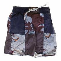 Babygap Boys Classic Swimwear Size 12 Mo  Blue/navy  Polyester Photo