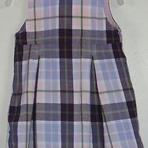 Babygap Size 3-6 Months Multi-Color Plaid Sleeveless Dress Photo