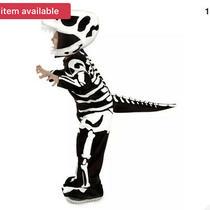 Babyt-Rex Dinosaur Fossil Skeleton Costume Size Smll 6-12 Months Photo