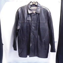 Bachrach Black Lambs Leather Jacket Super Soft W Insulated Liner Men Sz L Photo