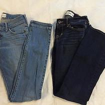 Back to School Lot of Abercrombie Girls's Jeans Boot Cut & Skinny Size 12 Slim Photo