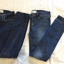 Back to School Lot of Abercrombie Girls's Jeans Skinny Size 12 Photo