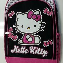 Backpack - Hello Kitty - White & Black Bow (Large School Bag) Photo