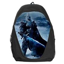 Backpack Lich King War Warior Fantasy Creature Rucksack Unisex Sac Zaino Bag Photo
