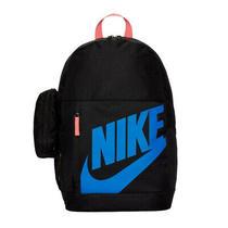 Backpack Nike Jr Elemental Rucksack 015 Sport School Kids Black/blue Photo