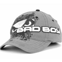 Bad Boy Brands Back Cage Hat Cap Lid Gray Fashion American Alternative Lifestyle Photo