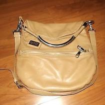 Badgley Mischka Beige Handbag Photo