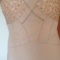 Badgley Mischka Collection Blush Dress Photo