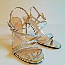 Badgley Mischka Jewel Women's Marimba Glitter Sandal Heels Size Us 8 / Euro 38 Photo