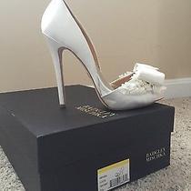 Badgley Mischka Lucie Womens Formal Wedding Shoe Ivory Size 7.5 Photo