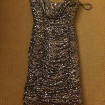 Badgley Mischka Sequin Dress Retail Price 750  Photo
