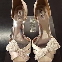 Badgley Mischka Wedding Shoes Photo