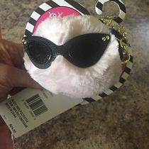 Bag Bling Betsey Johnson Pom Pom Blush Photo