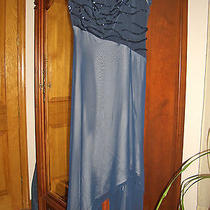 Bagatelle Asymmetrical Dress Women's Size L Evening Gown Prom Dress Photo