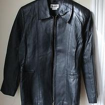 Bagatelle Leather Black Leather  Jacket Size Medium Photo