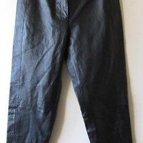 Bagatelle Nwot Leather Pants Sz 12 Lined 33
