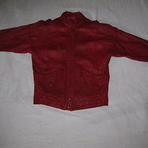 Bagatelle Red Leather Coat  Photo