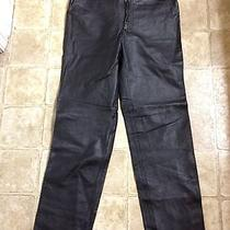 Bagatelle Sexy Black Leather Pants Sz 8 Vgc Photo