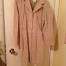 Bagatelle Solid Tan Suede Coat Photo