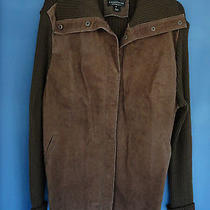 Bagatelle  Woman  Brown  Leather / Acrylic Sweater  2x Photo