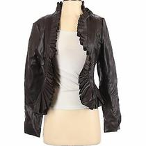 Bagatelle Women Brown Faux Leather Jacket S Photo