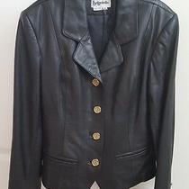 Bagatelle Women's Black Leather Jacket - Size 8 Photo