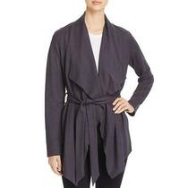 Bagatelle Womens Navy Draped Tie-Front Layering Cardigan Top Jacket S Bhfo 5584 Photo