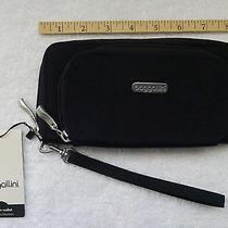 Baggallini Nwt Hudson Wallet Black Exterior Wrist Strap Pockets Organizers Photo