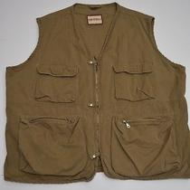 Bak Ta Basix Outdoors Cotton Fishing Hunting Outdoors Gaming Workwear Vest 4xb Photo