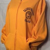 Baldwin Wallace College Yellow Jackets Jansport Small Zipper Hooded Sweatshirt Photo