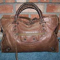 Balenciaga 2006 Cognac City Leather the First Bag Photo