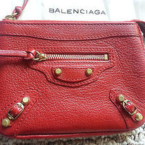 Balenciaga  2012 Holiday Collection - Coquelicot Gold Hw Coin Purse Photo