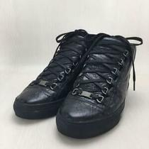 Balenciaga  40 Blk Leather Size Us 7 From Japan Sneaker 1916 Photo
