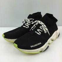 Balenciaga  40 Blk Size 40 Black High Cut Sneaker 172 From Japan Photo